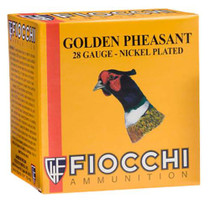 "Fiocchi Golden Pheasant 28 Ga, #5, 2.75"", 7/8 oz, 25rd/Box"