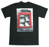 Glock In Case of Emergency T-Shirt Medium Black Cotton Short Sleeve