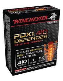 "Winchester PDX1 410 Ga, 3"", 4 Discs, 16 BBs, 10rd Box"