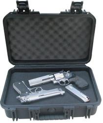 "SKB Handgun Case 16""x10""x5.5"", Polyethylene Waterproof Black"