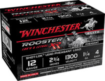 "Winchester Rooster XR Shot-Lok 12 Ga, 2.75"", 6 shot, 15rd/Box"