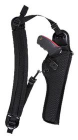Bianchi 4100 Ranger Hush Shoulder Holster (Unscoped) 4100 6 Black Nylon
