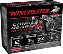 Winchester Long Beard XR 12 Ga, #6, Lead, 3 1-7/8 oz, 1050 fps, 10rd/Box