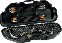 Plano Bow Guard AW Bow Case, Lock Latches Textured Poly Black