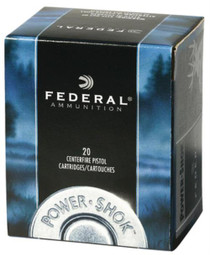 Federal Standard 357 Rem Mag Jacketed Hollow Point 180gr, 20Box