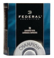 Federal Standard 32 Smith & Wesson Long Lead Round Nose 98gr, 20rd/Box