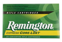 Remington Core-Lokt 7x64 Brenneke 140 Grain Pointed Soft Point, 20rd/Box