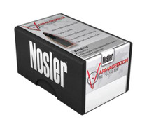 Nosler Varmageddon Rifle Bullets .224 Diameter 55 Grain Flat Base Hollow Point 250 Count