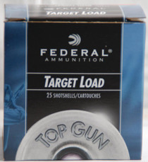 "Federal Top Gun 20 Ga, 2.75"", 1210 FPS, .875 Ounce, 7.5 Shot, 250rd/Case"
