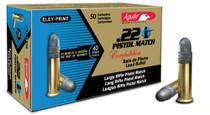 Aguila Match Pistol 22 LR 40gr, LRN, 50rd/Box