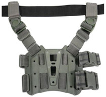 Blackhawk CQC Tactical Thigh Holster Platform With Rails Foliage Green