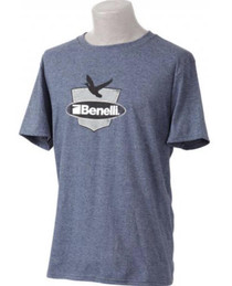 Benelli Duck Badge T-Shirt, Navy Heather, XXL