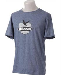 Benelli Duck Badge T-Shirt, Navy Heather, XXL