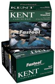 """Kent Fasteel 12 Ga, 2.75"""", 1-1/8 oz, 2 Shot, 250rd/Case"""
