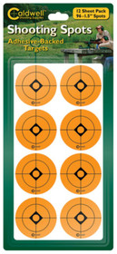 "Battenfeld Technologies Caldwell Non-Flake Shooting Spots 1.5"" 96 Per Package"