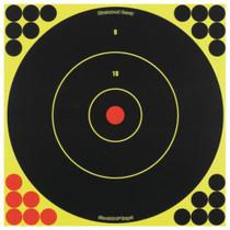 "Birchwood Casey Shoot-N-C Targets 12"" Round Bullseye, 12 Targets 288 Pasters"