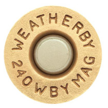 Weatherby .240 Weatherby Magnum 85 Grain Norma Spitzer 20rd/Box