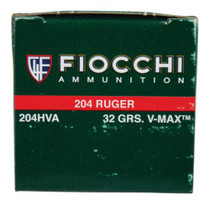 Fiocchi Extrema Hunting .204 Ruger 32gr, V-Max, 50rd/Box