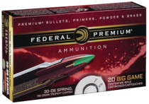 Federal Vital-Shok .25-06 Remington 100 Grain Trophy Copper 20rd/Box
