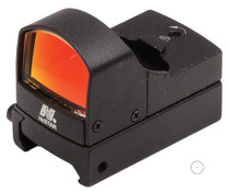 NCStar DDAB Red Dot Cmpt 1x 23.5X16.8mm Obj, Unlimited FOV & Eye Relief, 2MOA, Black