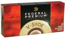 Federal V-Shok .22-250 Remington 55 Grain Nosler Ballistic Tip 20rd/Box