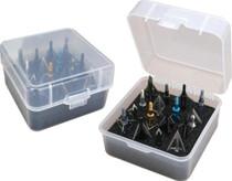 MTM Case Gard Clear Broadhead Box Holds 16