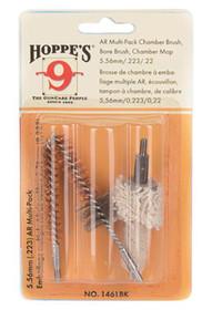 Hoppe's 3 Pack Bore Brush/Chamber Brush/Chamber Mop 5.56mm/.223 Remington