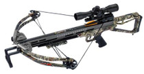 Carbon Express Covert CX-3 Crossbow 330 FPS 4x32mm Scope Camo