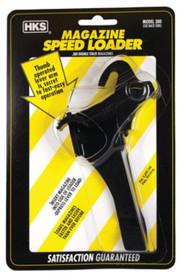 HKS Magazine Speedloader For Glock Plus 2 17/22 only Plastic Black