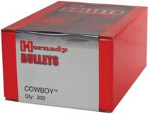 Hornady Cowboy Bullets .38 Caliber .357 Diameter 140gr, Flat Point, 350/Box