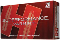 Hornady Superformance .22-250 Remington 50gr, V-Max, 20rd Box