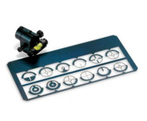 Uberti Spirit Level Tunnel Front Sight With 12 Inserts