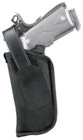 Blackhawk Hip Holster, Thumb Break LH Size 5 Black Nylon