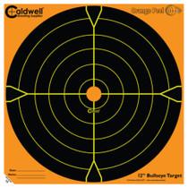 "Battenfeld Technologies Caldwell Orange Peel Flake Off Bullseye Targets 12"" 50 Per Package"