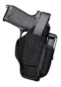 "Uncle Mike's Hip Holster, Mag Pouch, Size 5, 4.5-5"" Barrel Large Autos, Black, Ambi"