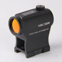 Holosun HS403C Red Dot, 2 MOA Dot, Solar, Black