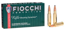 Fiocchi Shooting Dynamics .308 Winchester 165 Grain Boattail Soft Point 20rd/Box