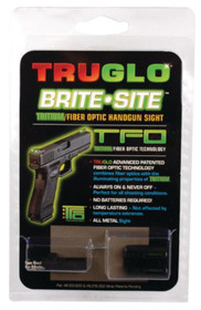 Truglo Tritium Fiber Optic Sight For Glock Low