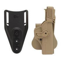 Sig RHS Paddle Retention Holster Glock Models 17 22 31 34 35 - LEVEL 3 TAN