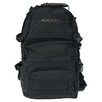 Drago Gear Assault Backpack 600 Denier Polyester Black