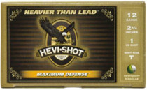 "HEVI-Shot Maximum Defense 12 Ga, 2.75"", 1oz, T Shot, 5rd/Box"