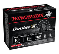 "Winchester Supreme Double X Turkey 10 Ga, 3.5"", 2oz, 5 Shot, 10rd/Box"