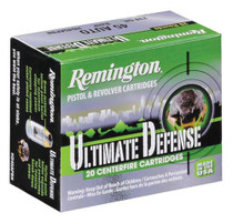 Remington Ultimate Home Defense 380ACP 102gr, Brass Jacketed, Hollow Point, 20rd Box