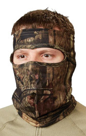 HuntersSpecial Spandex 3/4 Face Mask Realtree Xtra One Size, Scent-A-Way Silver