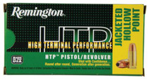 Remington HTP 9mm 115gr, Jacketed Hollow Point, 50rd Box