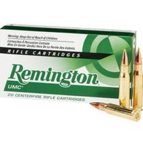 Remington UMC 300 AAC Blackout 120gr OTFB, 20rd Box