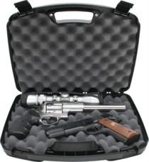 "MTM Case-Gard Two Handgun Case up to 8"" Barrel Textured Polypropylene"