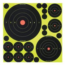 Birchwood Casey Shoot-N-C Self-Adhesive Targets Variety Pack, 50 Targets 50 Pasters