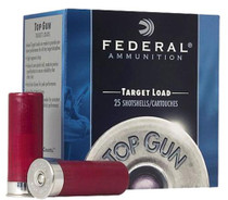 "Federal Top Gun Target 12 Ga, 2.75"", 1oz, 7.5 Shot, 25rd/Box"