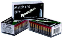 Remington Eley Competition Match 22LR 40gr, Lead Flat Nose, 50rd/Box